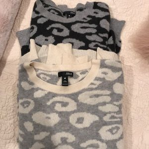 2🖤🖤 AQUA cashmere sweaters sz S grey& black